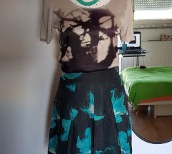 Nova Turnover suknja od prave svile