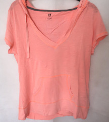 Nova narančasta H&M sportska majica M