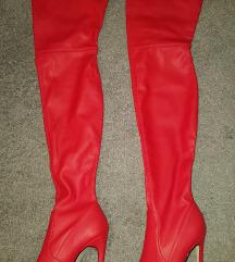 Visoke sexy čizme preko koljena