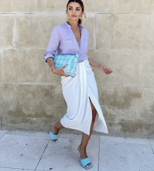 Snižena Zara suknja sa čvorom %%