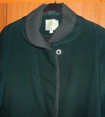SNIŽENO!!! zeleni midi kaput L/XL (pt dijelimo)