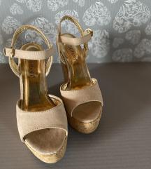 Visoke sandale puna peta