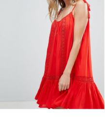 Accessorize crvena haljina