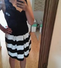 Prugasta haljina M
