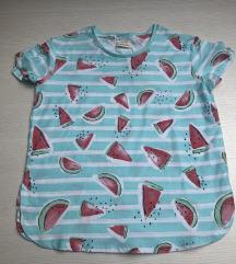 Zara majica s kratkim rukavima 128 NOVO!
