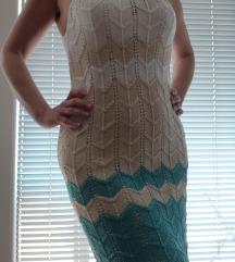 Štrikana ljetna haljina, ručni rad