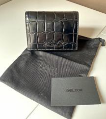 Karl Lagerfeld mali crni novčanik