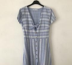 Sinsay plavo bijela prugasta haljina