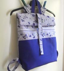 ljubičasto lila ruksak -33% sada 100kn!