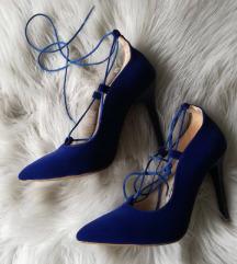 Royal blue salonke