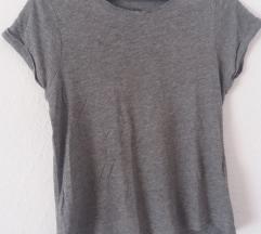 Siva majica kratkih rukava