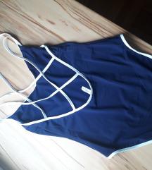 Kupaći kostim jednodjelni plavo bijeli