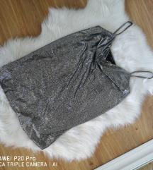 Zara svjetlucavi top / majica