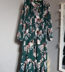 Proljetna midi haljina
