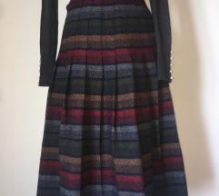Vintage c&a vunena suknja