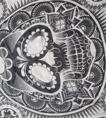 Marama sa motivom kosturske glave