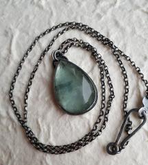 Ogrlica s akvamarinom