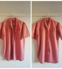 Oversize vintage traper košulja, kao nova