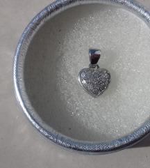 Srce bijelo zlato 585