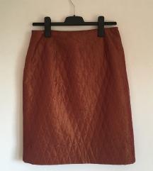 Midi pencil suknja