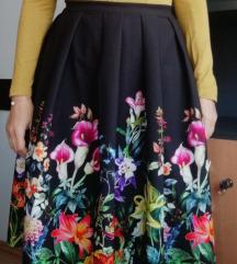 Suknja cvjetna