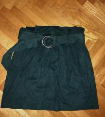 Bershka brusena suknja