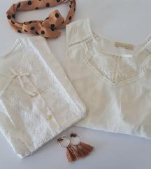 LOT - dvije bijele bluze