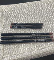 3 Diego Dalla Palma olovke i 2 NYX