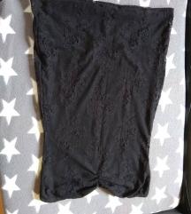 čipkasta mini haljina