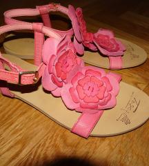 TOSCA BLU kožne sandale, veličina 37