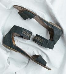 Paul Green ženske crne sandale