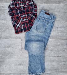 LOT - Mom traperice i Asos košulja