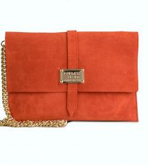 Nova pismo clutch torbica,prava koža, Slobodna