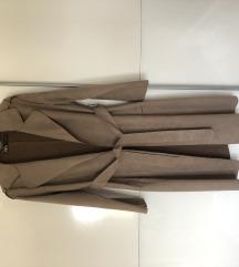 ZARA baloner / suede trench coat