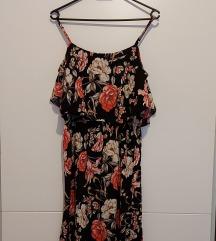 Cvjetna haljina s volanom
