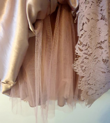 SNIŽENO❗Čipkasta midi haljina