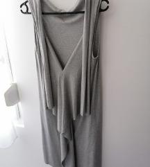 Vicolo siva haljina