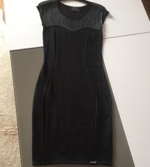 GUESS knitted crna uska haljina XS