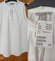 Nova bijela H&M bluza
