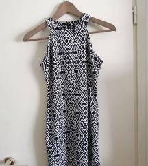 Uska crno bijela haljinca