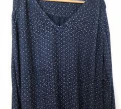 H&m plava bluza xl