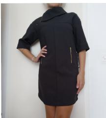 Zara crna haljina vel XS
