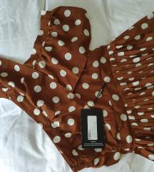 Lepršava haljina na točkice