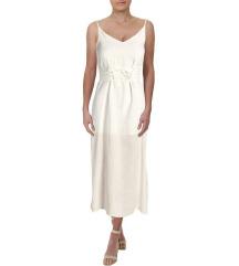 Nova s etiketom lanena haljina