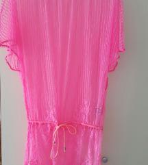 Neon tunike za plažu (roza i zelena)