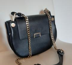 Zara mala torbica prava koža