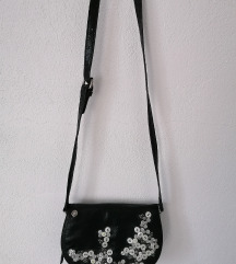 Replay black buttons bag