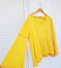 ORSAY žuta majica / bluza / trapez rukavi