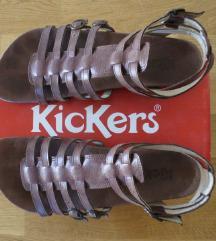 Kickers kožne gladiator sandale