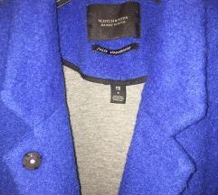 280 kn 🔥 Kraljevsko plavi Scotch&Soda kaput